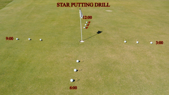 star-putting-drill