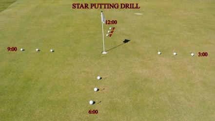 star-putting-drill